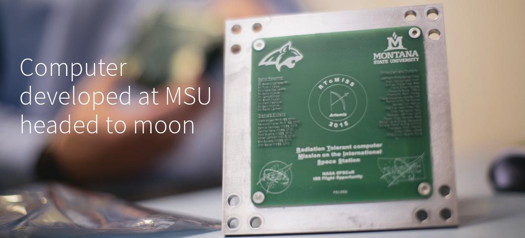 Computer developed at MSU headed to the moon