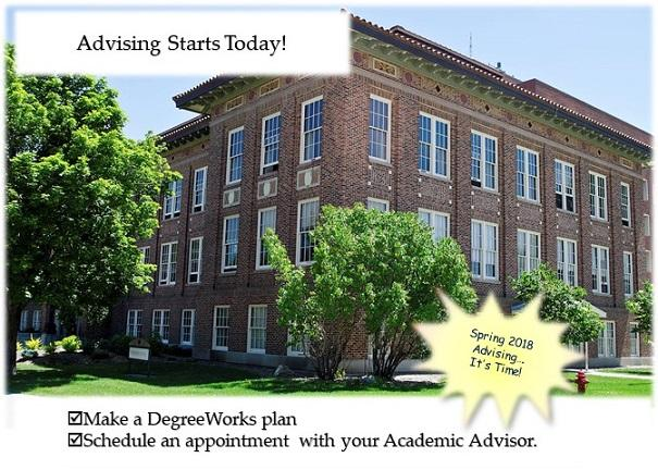 Make a DegreeWorks plan and Schedule an advising appointment