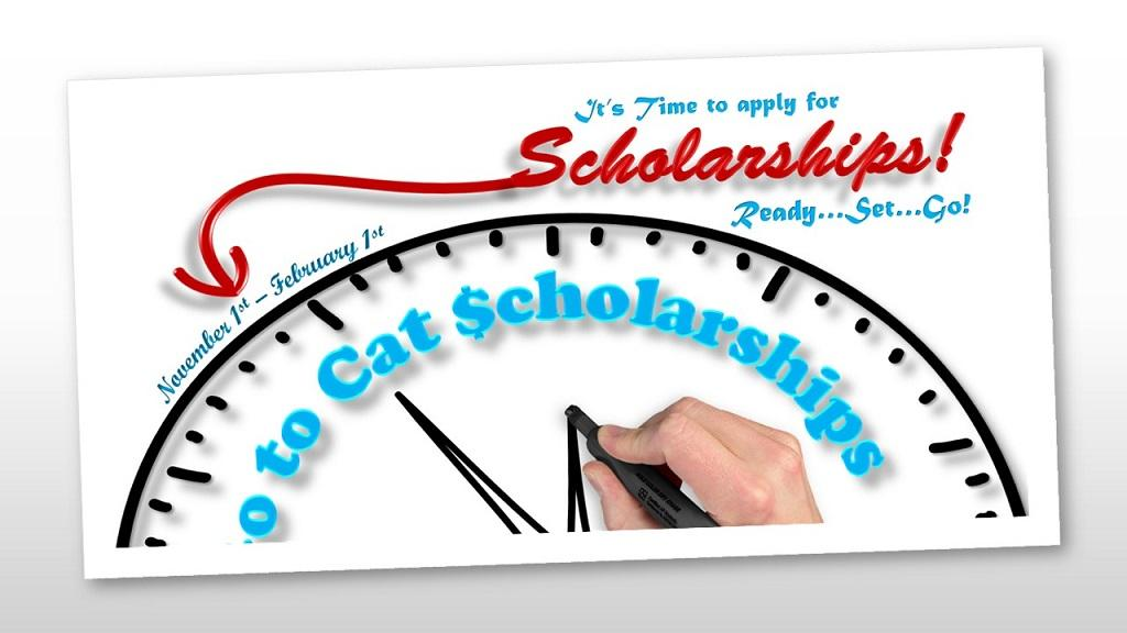 Cat $cholarships - is a centralized scholarship management program for undergraduate and graduate scholarship funds.