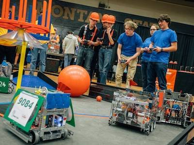 MSU robotics outreach event